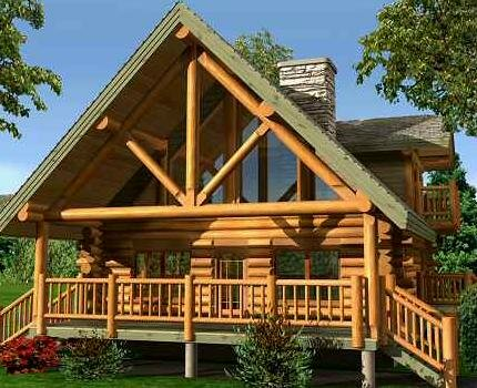 Log homes are more than just beautiful for Minimalist cabin design